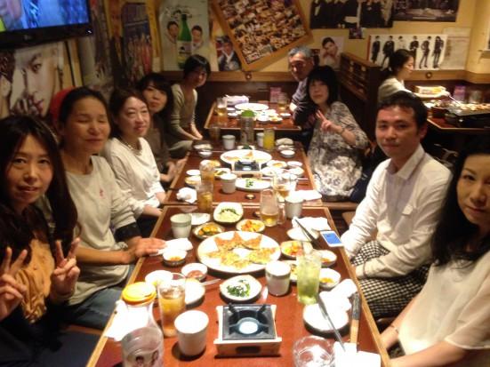 10月24日新大久保で受講生向けセミナーと懇親会を開きました。